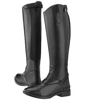 bottes equitation cuir