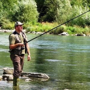 canne a peche riviere