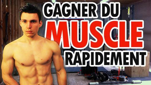 comment prendre de la masse musculaire