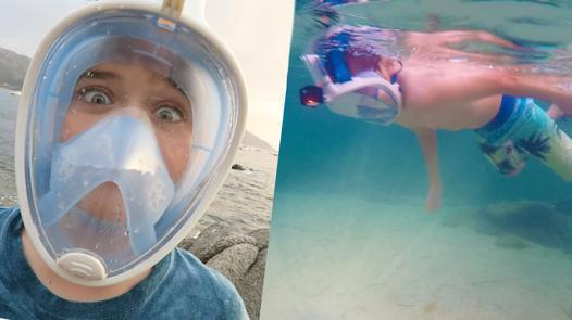 masque de plongée easybreath
