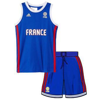 tenue basket enfant