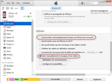 transferer photo iphone vers pc