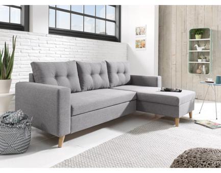 canapé gris clair