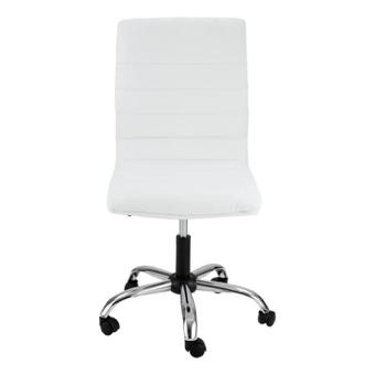 chaise de bureau blanche