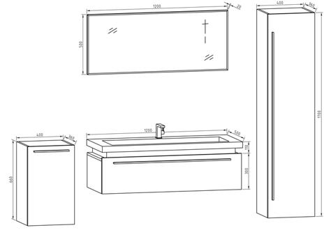profondeur meuble salle de bain