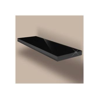 tablette murale noire