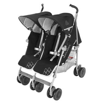poussette double maclaren twin techno