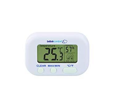 thermomètre hygromètre bébé