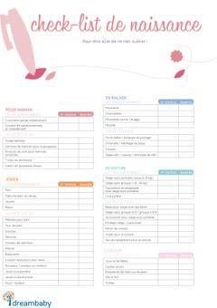 exemple de liste de naissance