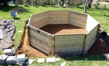 installation piscine hors sol